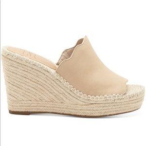 Slide Wedge Sandals